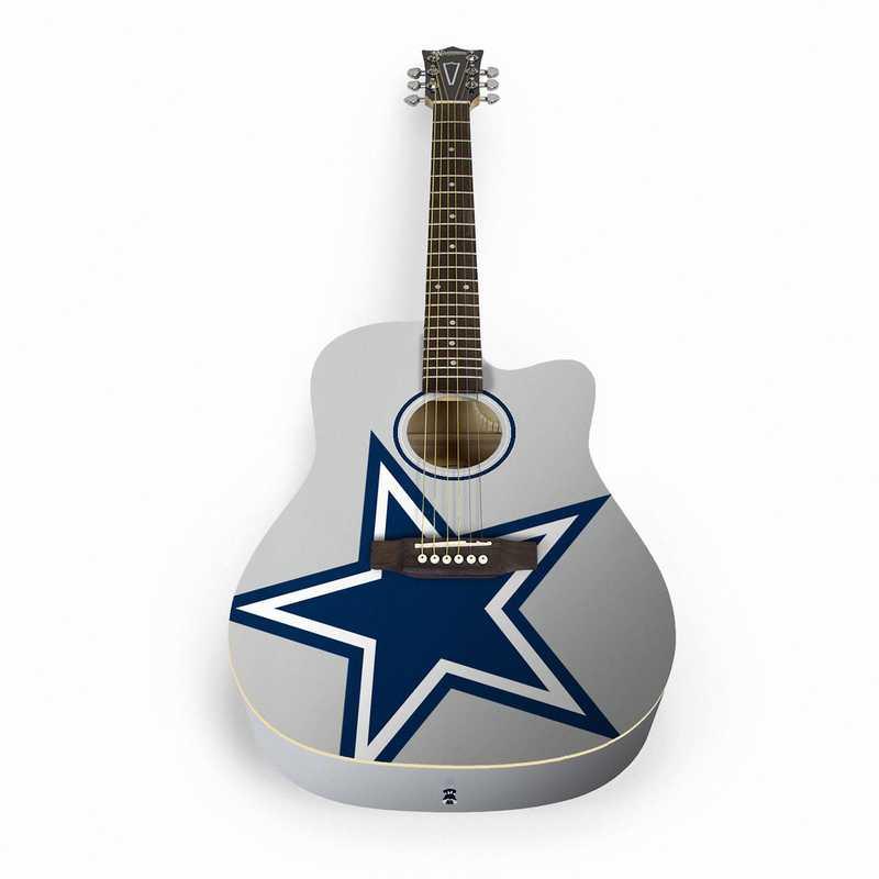 ACNFL09:  Dallas Cowboys Acoustic Guitar