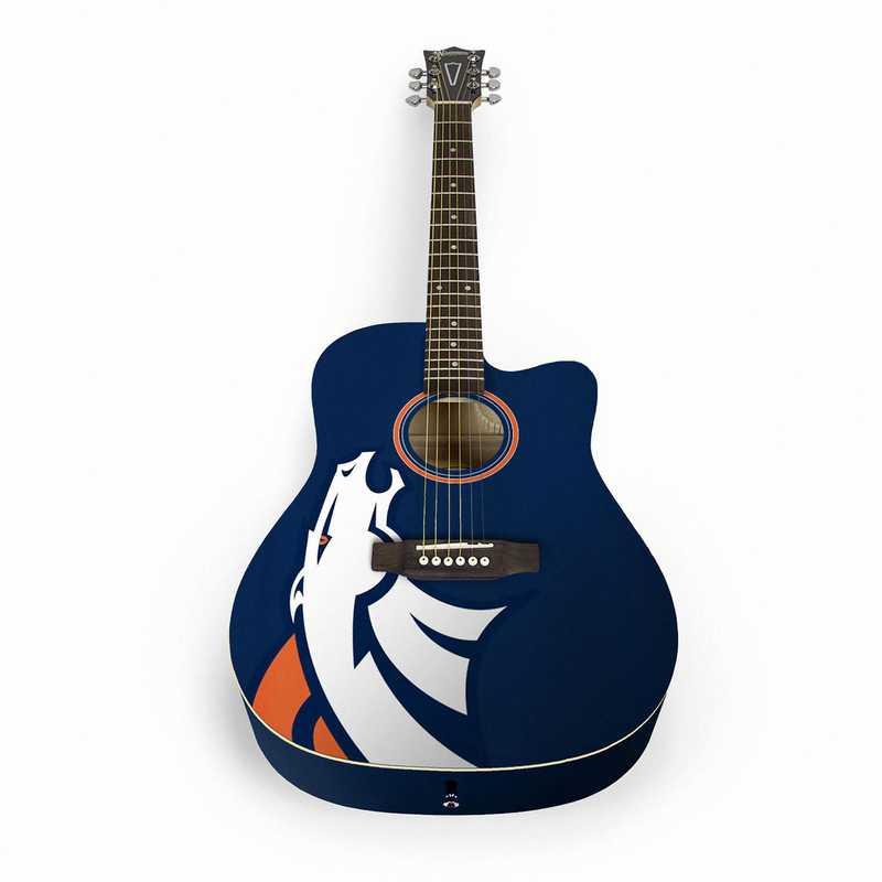 ACNFL10:  Denver Broncos Acoustic Guitar