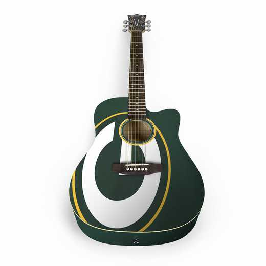 ACNFL12:  Green Bay Packers Acoustic Guitar