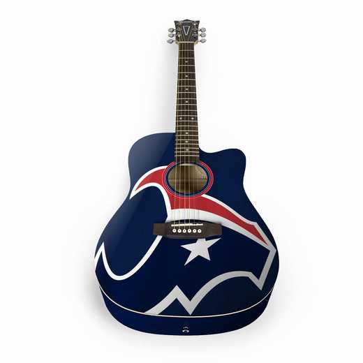 ACNFL13:  Houston Texans Acoustic Guitar