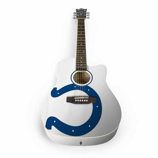 ACNFL14:  Indianapolis Colts Acoustic Guitar