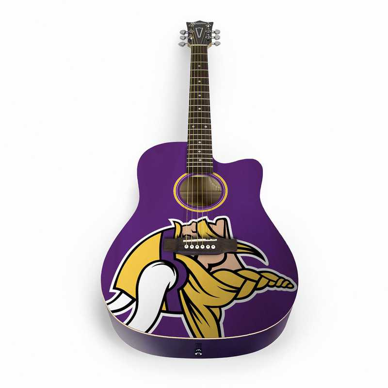 ACNFL18:  Minnesota Vikings Acoustic Guitar
