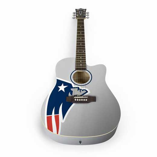 ACNFL19:  New England Patriots Acoustic Guitar