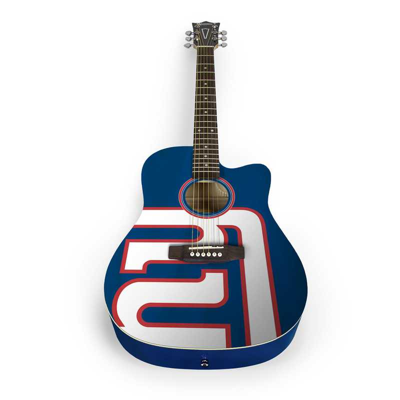 ACNFL21:  New York Giants Acoustic Guitar