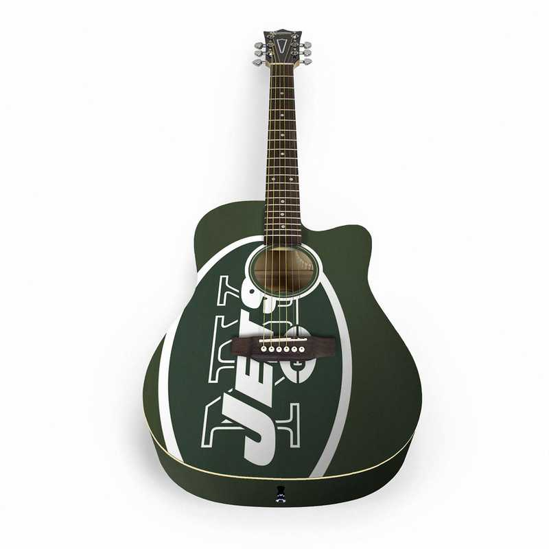 ACNFL22:  New York Jets Acoustic Guitar