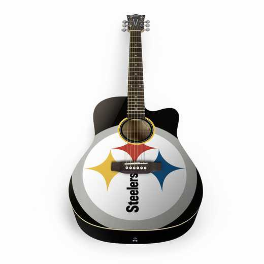 ACNFL25:  Pittsburgh Steelers Acoustic Guitar