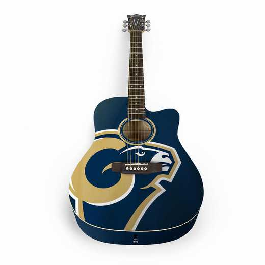 ACNFL26:  Los Angeles Rams Acoustic Guitar