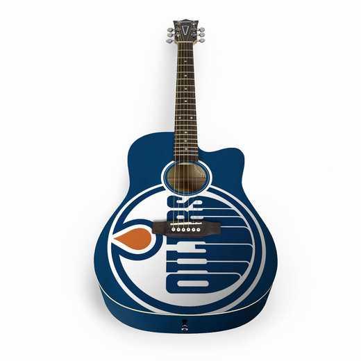ACNHL12: Edmonton Oilers Acoustic Guitar