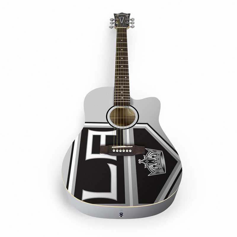 ACNHL14: Los Angeles Kings Acoustic Guitar