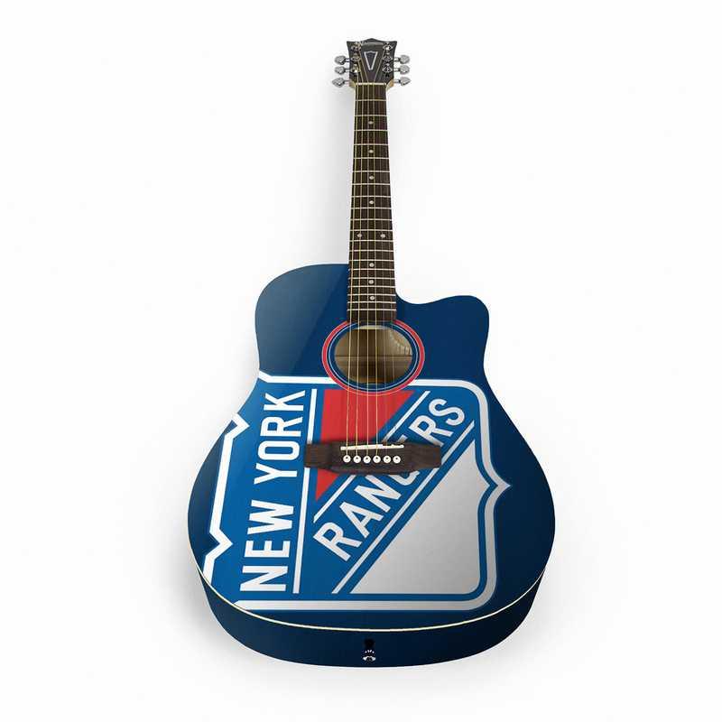 ACNHL19: New York Rangers Acoustic Guitar