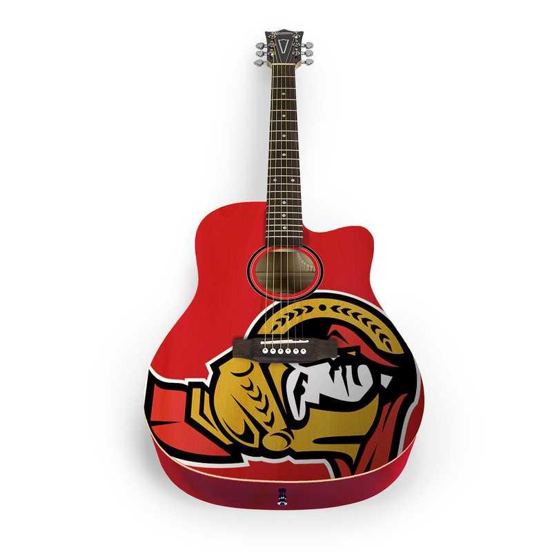 ACNHL21: Ottawa Senators Acoustic Guitar