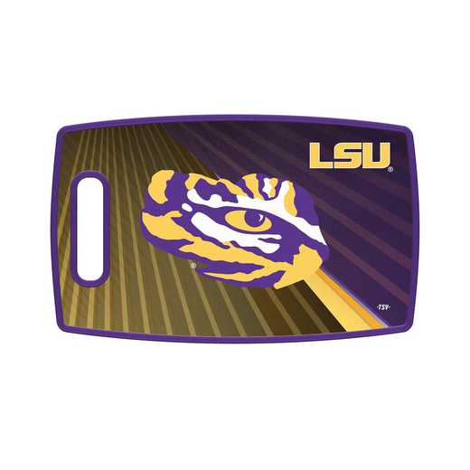 TSV LSU Tigers Large Cutting Board: Unisex