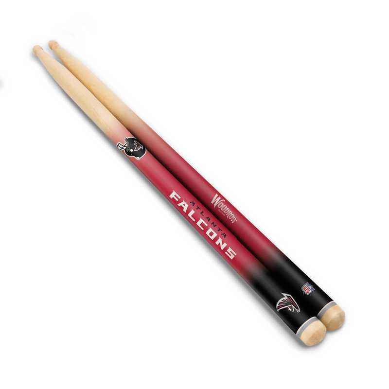 DSNFL02:  Atlanta Falcons Drum Sticks