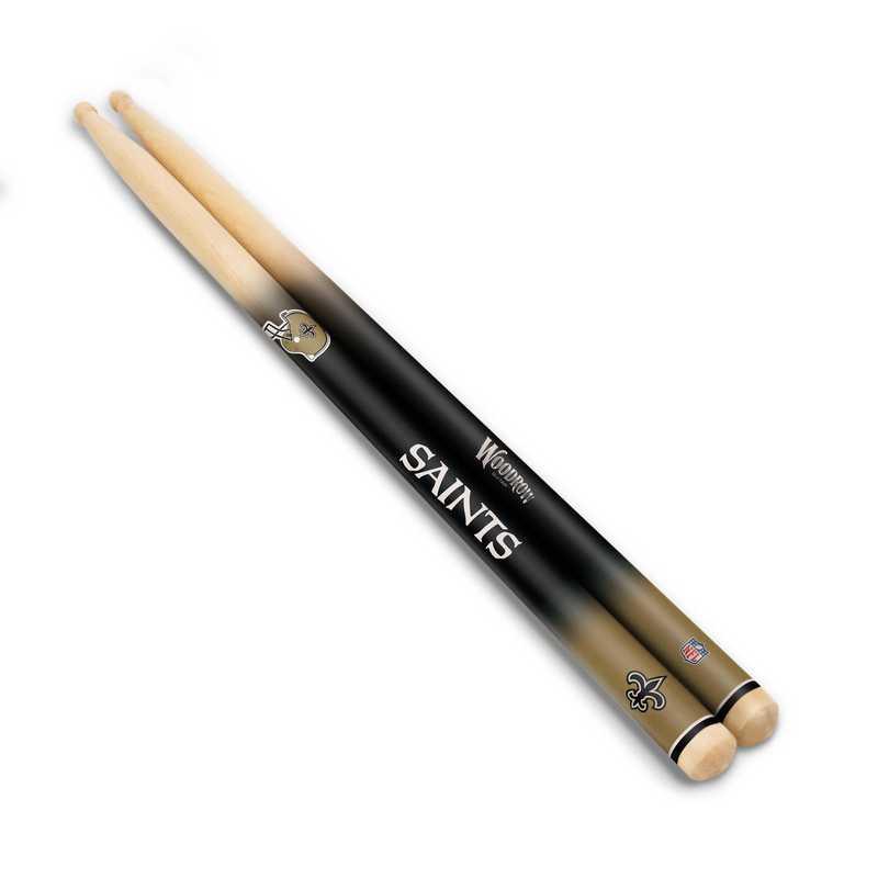 DSNFL20:  New Orleans Saints Drum Sticks