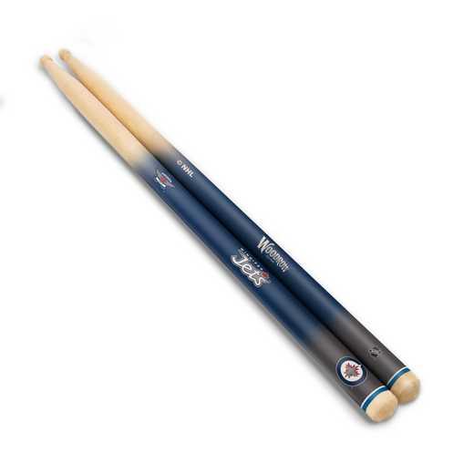 DSNHL30:  Winnipeg Jets Drum Sticks