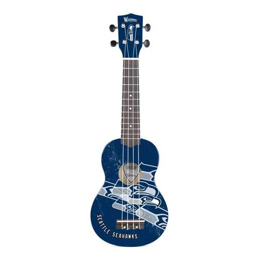 UKNFL64:  Seattle Seahawks Ukulele