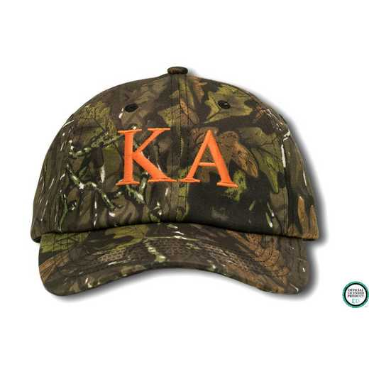 kago2: Kappa Alpha Greek Letter Baseball Cap-Red/Yellow