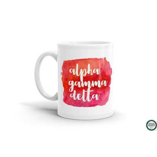 MG042: TS Alpha Gamma Delta Water Color Coffee Mug