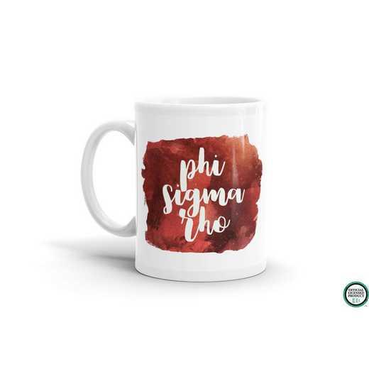 MG049: TS Phi Sigma Rho Water Color Coffee Mug