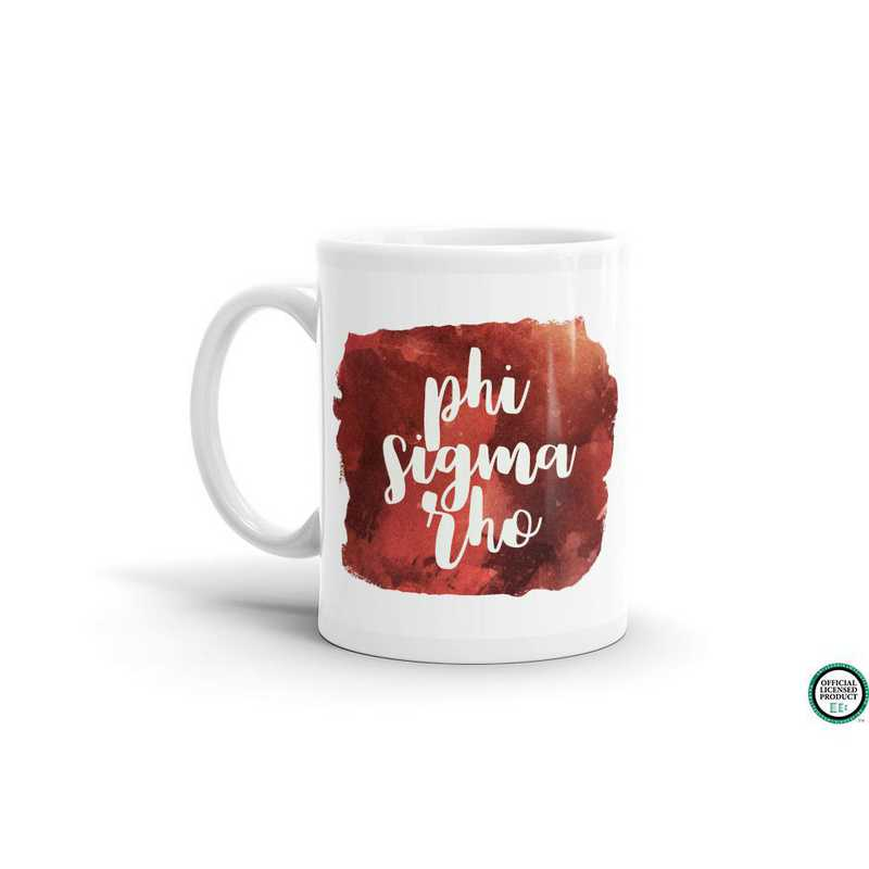 MG049: TS Phi Sigma Rho Water Color Coffee Mug