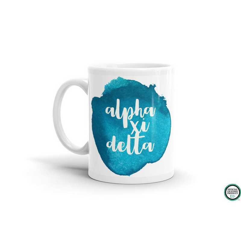 MG053: TS Alpha Xi Delta Water Color Coffee Mug