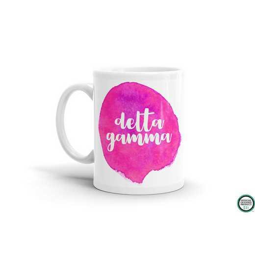 MG073: TS Delta Gamma Water Color Coffee Mug