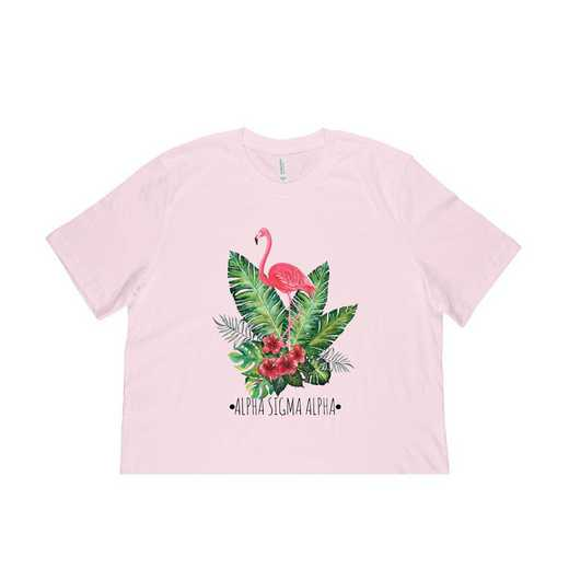 Alpha Sigma Alpha Tropical Flamingo T-Shirt