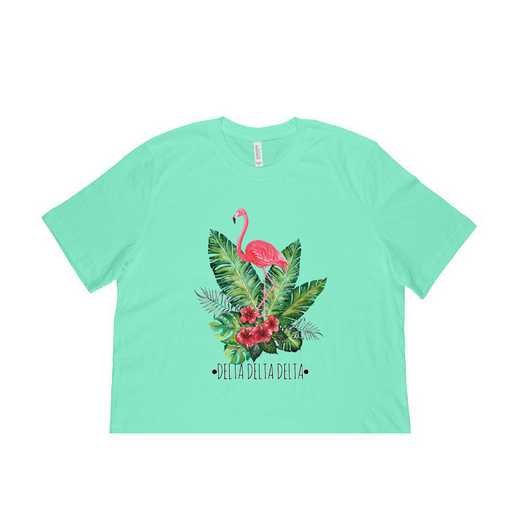 Delta Delta Delta Tropical Flamingo T-Shirt