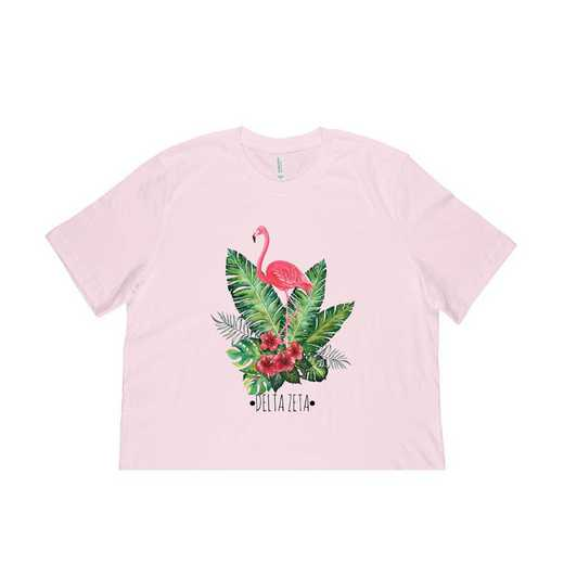 Delta Zeta Tropical Flamingo T-Shirt