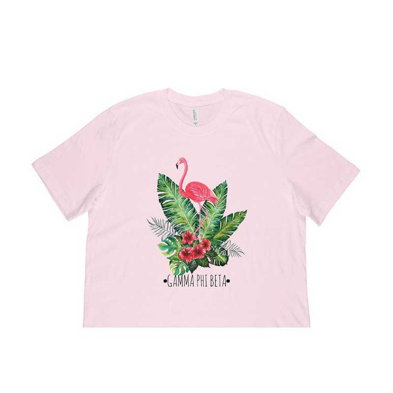 Gamma Phi Beta Tropical Flamingo T-Shirt