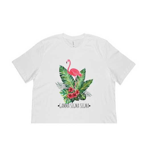 Gamma Sigma Sigma Tropical Flamingo T-Shirt