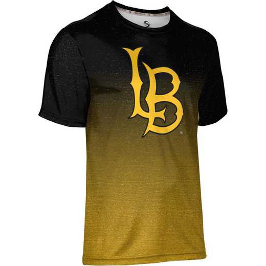 California State University Long Beach Men's Performance T-Shirt (Ombre)