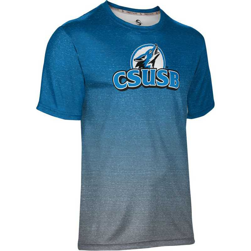California State University San Bernardino Men's Performance T-Shirt (Ombre)