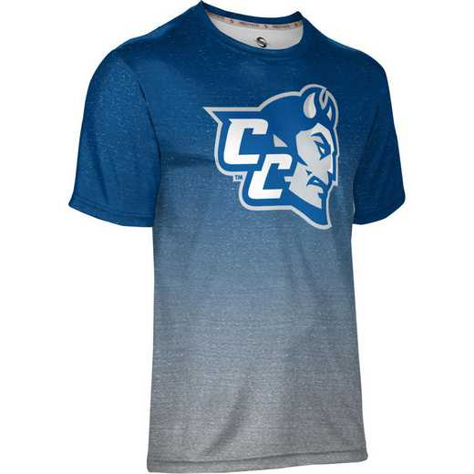 ProSphere Central Connecticut State University Men's Performance T-Shirt (Ombre)