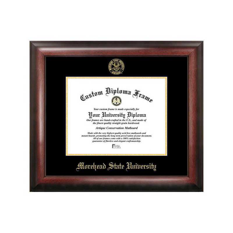 KY985GED-1185: Morehead State University 11w x 8.5h Gold Embossed Diploma Frame