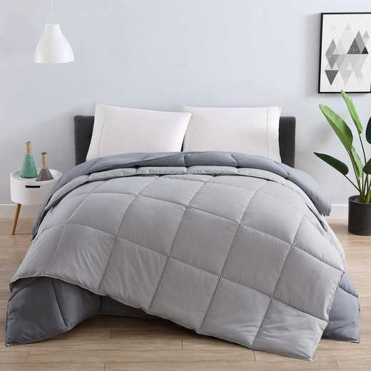 VCNY Home Home All Season Down Alt Comforter Set Grey