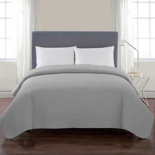VCNY Home Columbus Quilt Grey