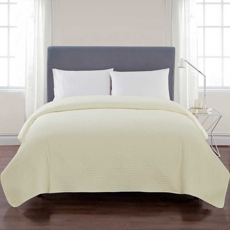 VCNY Home Columbus Quilt Ivory