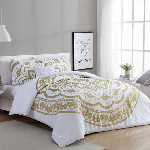VCNY Home Karma Gold Medallion Comforter Set