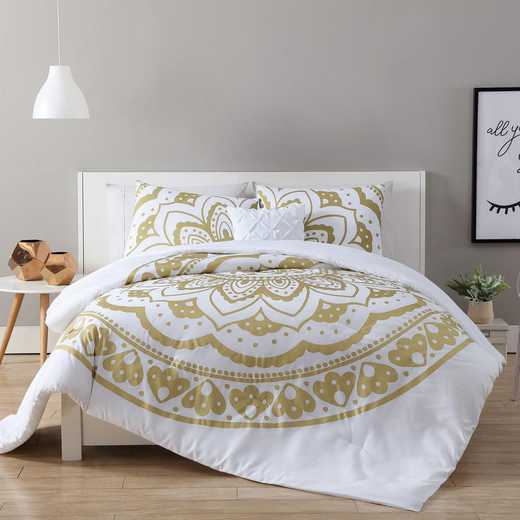 VCNY Home Karma Gold Medallion Duvet Set