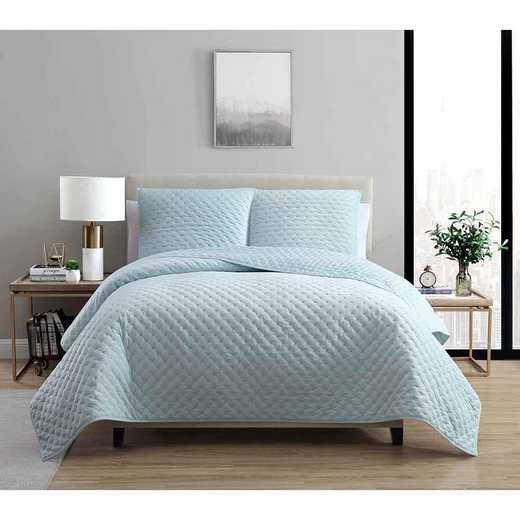 VCNY Home Dreamy Lux Quilt Set Seafoam