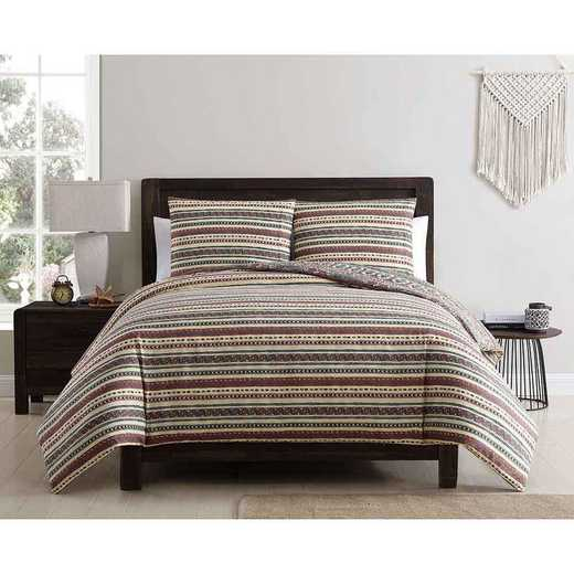 VCNY Home Menkis Duvet Set Red