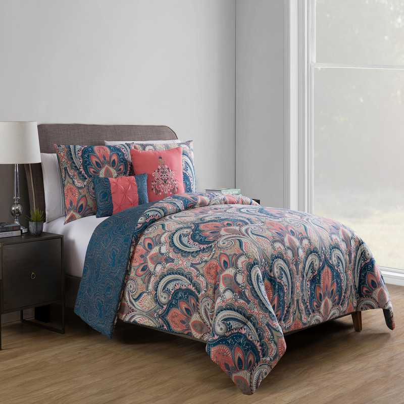 Casa Re`al Reversible Comforter Set
