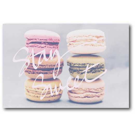 WEB-CD123-12x18: Stay Sweet Canvas 12x18