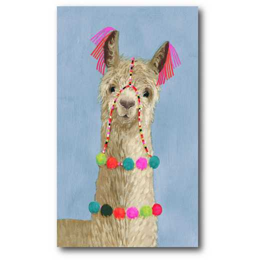 WEB-G304: Adorned Llama III Canvas 12x18