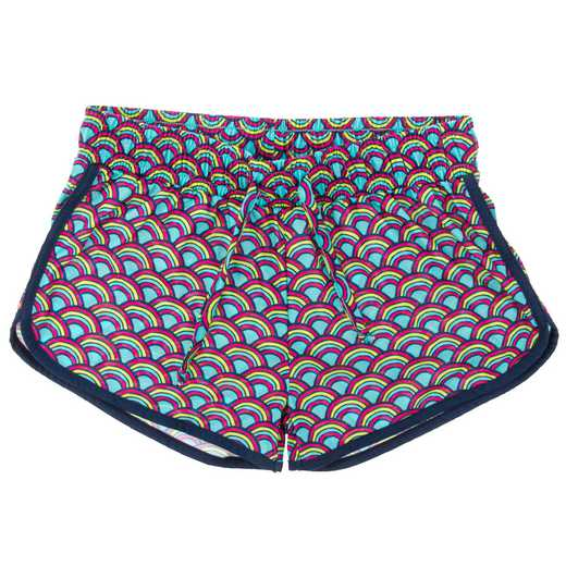 WIT! PJ SHORTS RAINBOW
