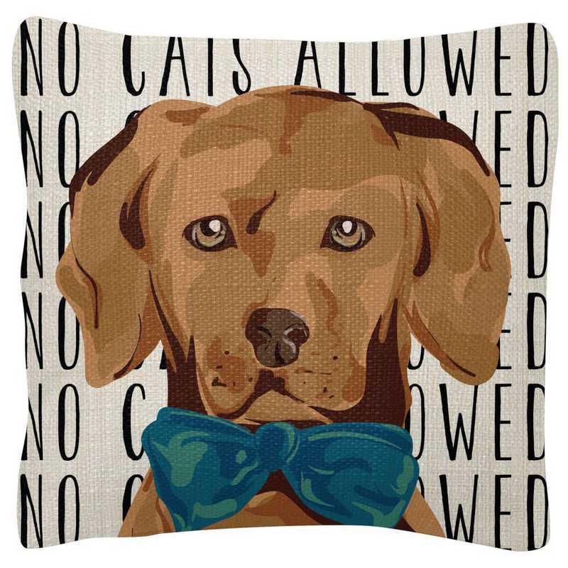 WT103922: SQUARE PILLOWS DOG