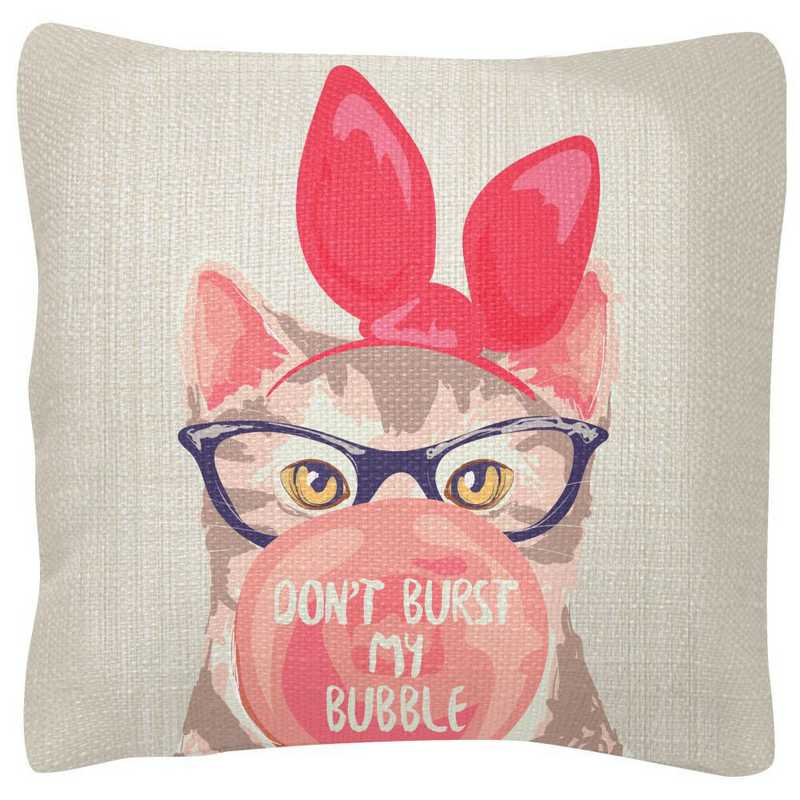 WT103927: SQUARE PILLOWS CAT