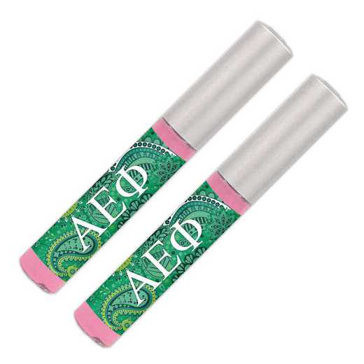 GRK-AEP-2LGBG: Lip gloss soft pink sheer smooth and shiny