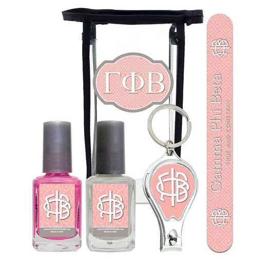 GRK-GPB-MPPK: Manicure pedicure kit 2 nail polish file clipper gift bag